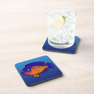 Cartoon Angelfish 1 Coaster