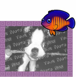 Cartoon Angelfish 1 Cutout