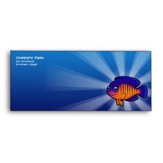 Cartoon Angelfish 1 Envelope
