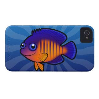 Cartoon Angelfish 1 iPhone 4 Cover