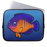 Cartoon Angelfish 1 Laptop Computer Sleeve