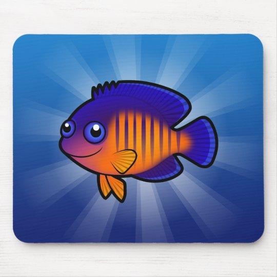 Cartoon Angelfish 1 Mouse Pad