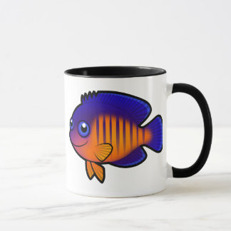 Cartoon Angelfish 1 Mug