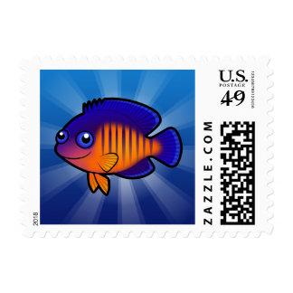 Cartoon Angelfish 1 Postage