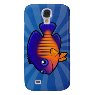 Cartoon Angelfish 1 Samsung Galaxy S4 Cover