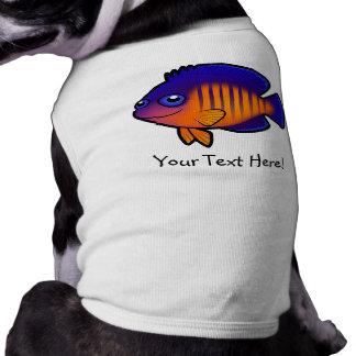 Cartoon Angelfish 1 Tee