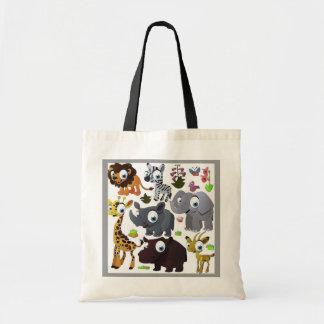 Cartoon_animal_3-987x1024 Tote Bag