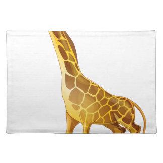 cartoon animal cloth place mat