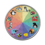 cartoon animals for kids jelly belly candy tin