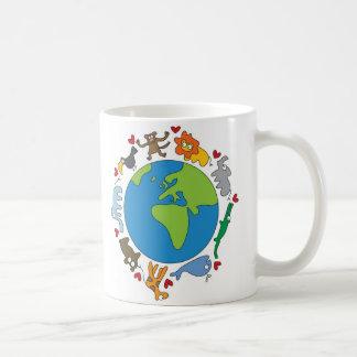 Cartoon Animals of the World Mug