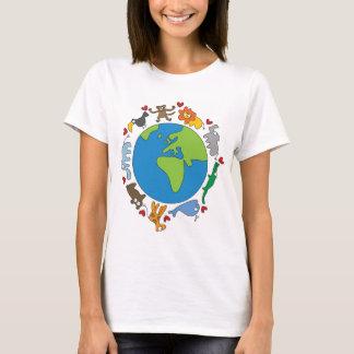 Cartoon Animals of the World T-shirt