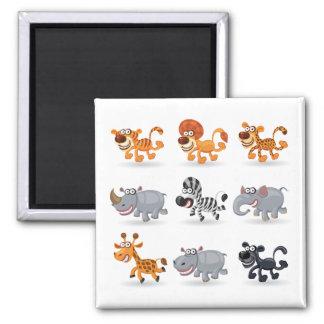 Cartoon animals set 1 magnet