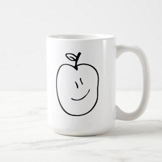 Cartoon Apple Coffee Mug