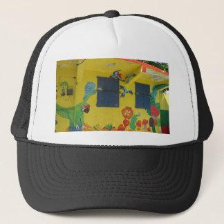 Cartoon Art St. Maarten Trucker Hat