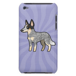 Case-Mate iPod Touch Barely There Case with Australian Cattle Dog Phone Cases design