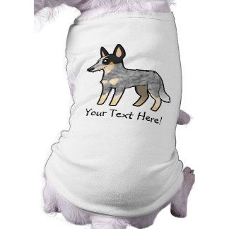 Cartoon Australian Cattle Dog / Kelpie T-Shirt