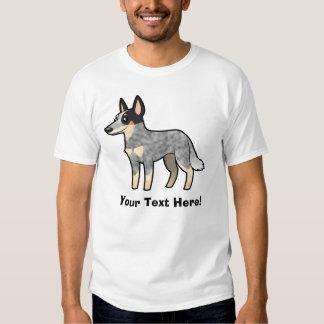 Cartoon Australian Cattle Dog / Kelpie Tee Shirt