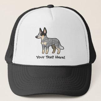 Cartoon Australian Cattle Dog / Kelpie Trucker Hat