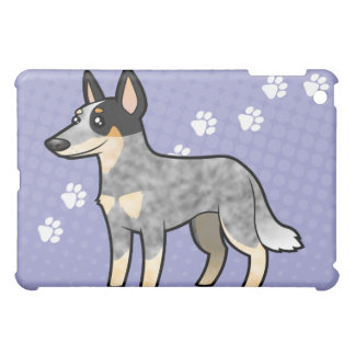 Cartoon Australian Cle Dog / Kelpie iPad Mini Case