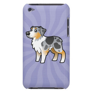 Cartoon Australian Shepherd Case-Mate iPod Touch Case