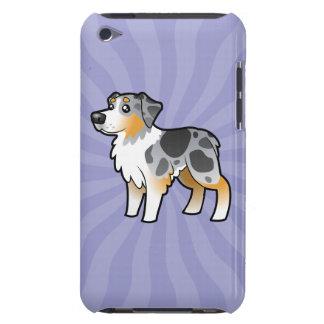 Cartoon Australian Shepherd Case-Mate iPod Touch Case