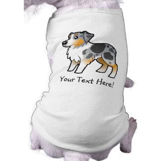 Cartoon Australian Shepherd T-Shirt