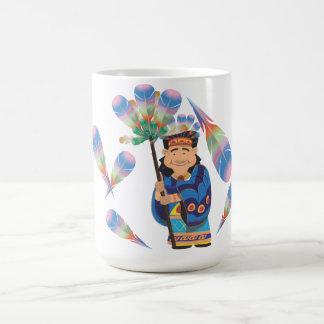 Cartoon Aztek Coffee Mug