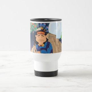 Cartoon Aztek Travel Mug