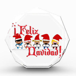 Cartoon Baby Carolers - Feliz Navidad Awards
