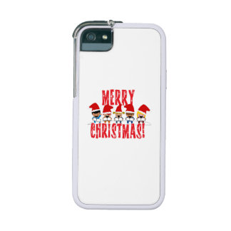 Cartoon Baby Carolers - Merry Christmas iPhone 5/5S Cases