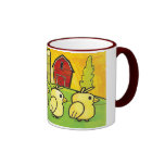 Cartoon Baby Chicks Mug