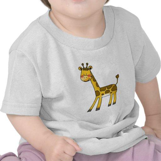 cartoon baby giraffe t shirts