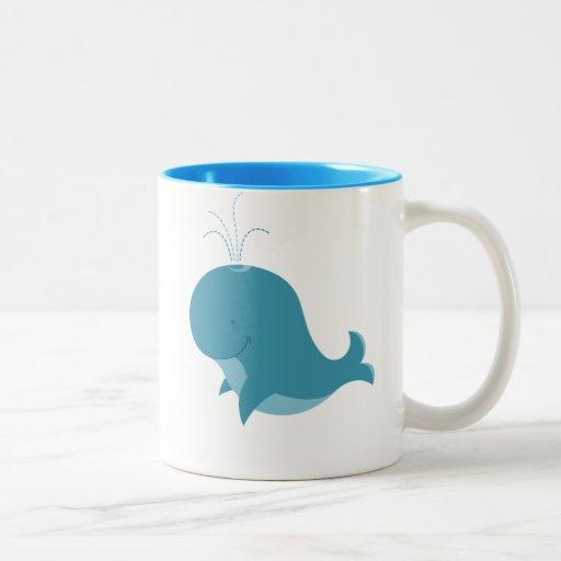 Cartoon Baby Whale mug