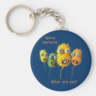 Cartoon Bacteria key chain