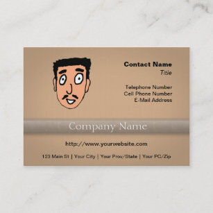 Pick up lines business cards templates zazzle cartoon bad pick up line slimy moustache guy business card colourmoves