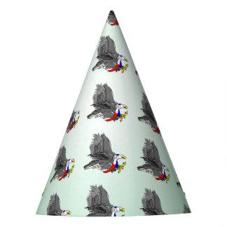 Cartoon Bald Eagle Party Hat