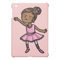 Cartoon Ballet Dancer iPad Mini Cover