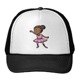 Cartoon Ballet Dancer Trucker Hat