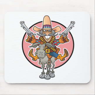 Cartoon Bandito Mouse Pad