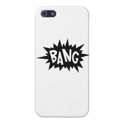 Cartoon Bang by Chillee Wilson iPhone 5 Cover