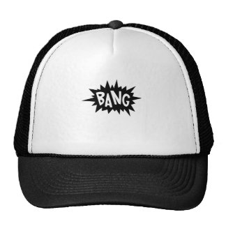 Cartoon Bang by Chillee Wilson Trucker Hat