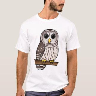 Cartoon Barred Owl T-Shirt