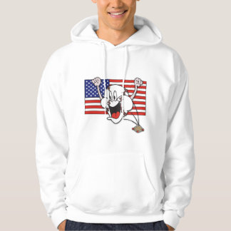 Cartoon Baseball Hoodie