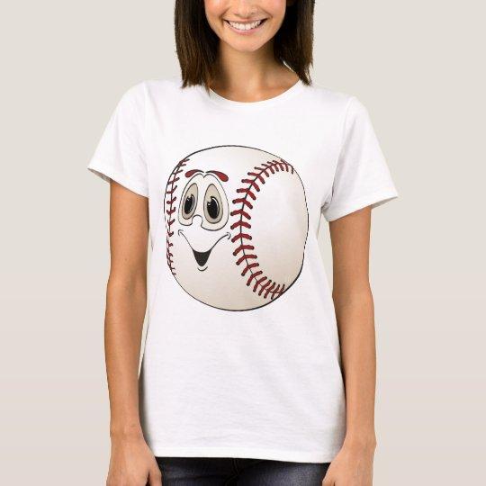 Cartoon Baseball T-Shirt