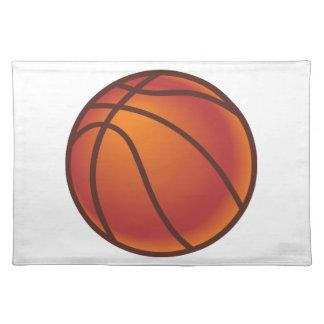 Cartoon Basketball Cloth Placemat
