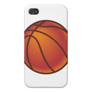 Cartoon Basketball iPhone 4/4S Cases