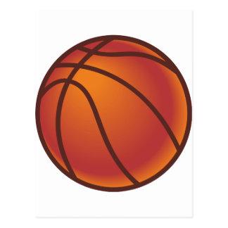 Cartoon Basketball Postcard