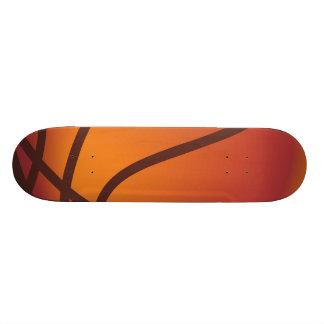 Cartoon Basketball Skateboard