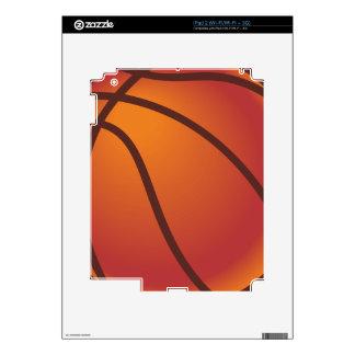 Cartoon Basketball Skin For iPad 2