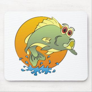 Cartoon Bass Mouse Pad